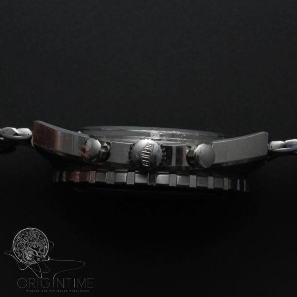 Vintage Heuer Autavia Panda 73663 Gay Freres Bracelet Valjoux 7736