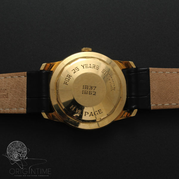 Lemania Troy AAC 18k Gold Cal 4651 Automatic Watch