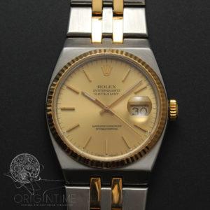 Rolex Datejust Oysterquartz Two Tone Ref 17013 Watch