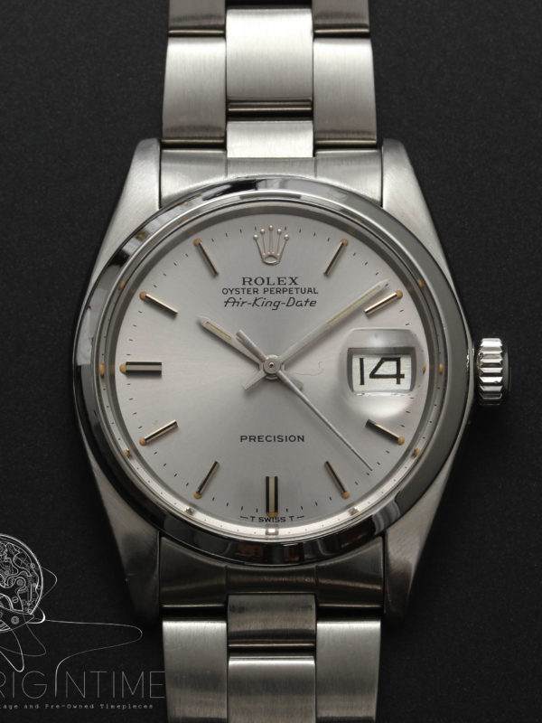 Rolex Airking Date Ref 5700 Cal 1520 Box & Papers