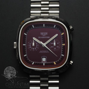 Vintage Heuer Silverstone Cal 12 110.313R with Box