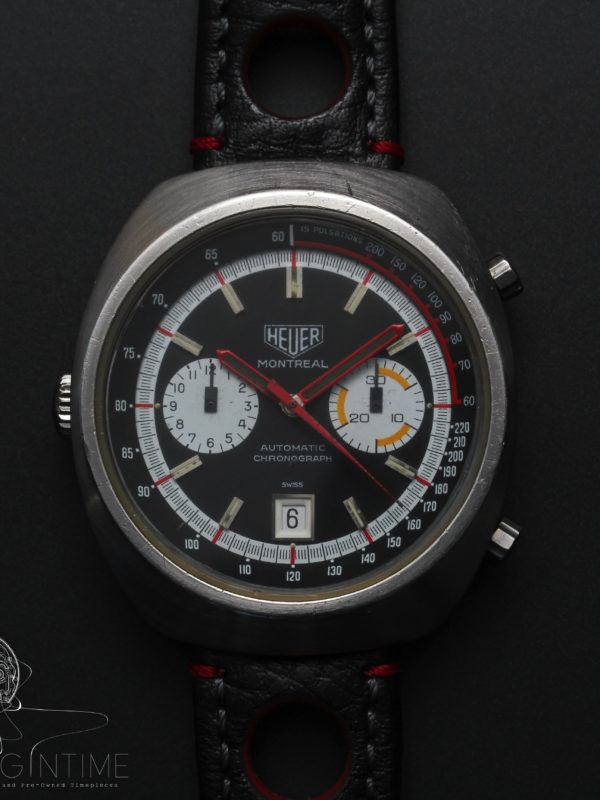 Heuer Montreal Ref 110.503N Cal 12 Automatic Chronograph