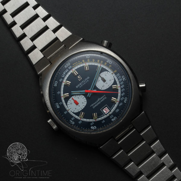 Breitling Trans Ocean Chrono-matic Ref 2119 Cal 12 Automatic Chronograph