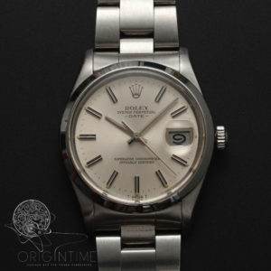 Rolex Oyster Perpetual Date Stainless Steel Cal 1560 Ref 1500