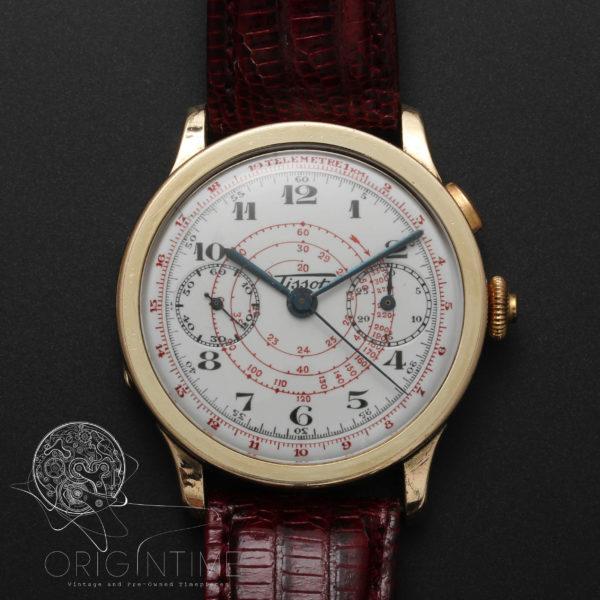 30's Rare Tissot Chronograph Oversize Lemania Cal 15 CHT