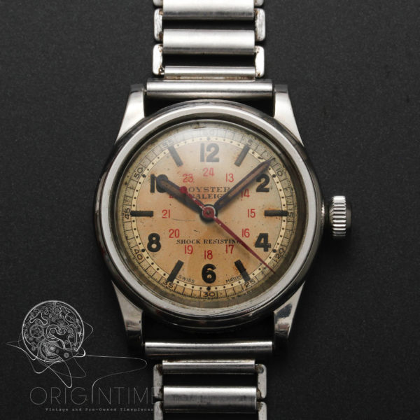 1942 Rolex Oyster Raleigh Ref 3478 Cal 59 Gay Freres Bracelet