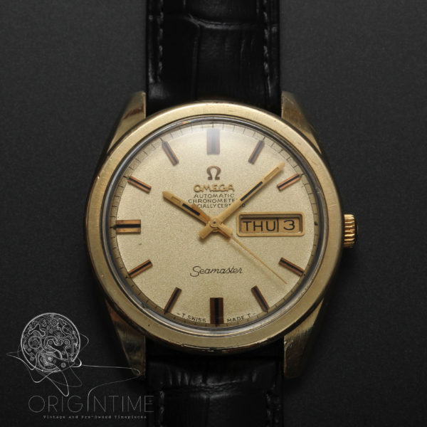 1968 Omega Seamaster Day Date Ref 166.032 Cal 751