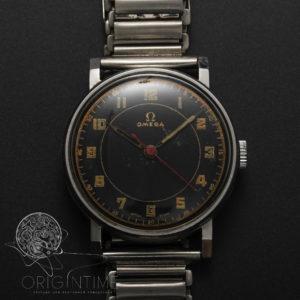 1939 Omega Black Gilt Dial Cal 30 SC T2