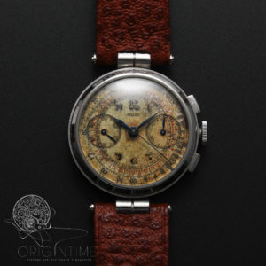 40's Jaeger LeCoultre Universal Geneve Cal 281 Chronograph Vintage Watch