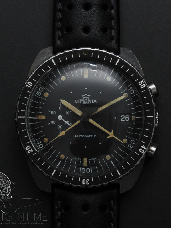 SAAF Lemania 5012 Automatic Chronograph