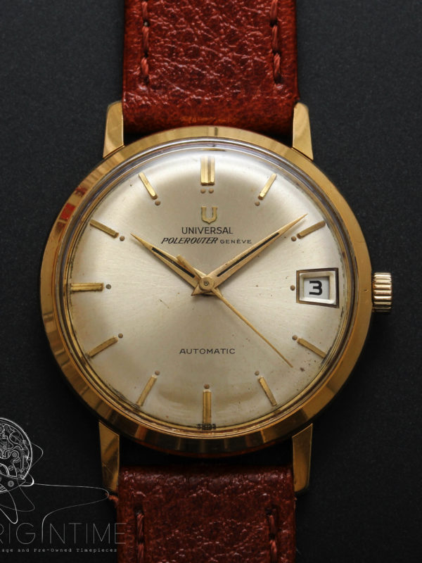 Universal Geneve Polerouter Microrotor Automatic Cal 215-2 Ref 404604/1