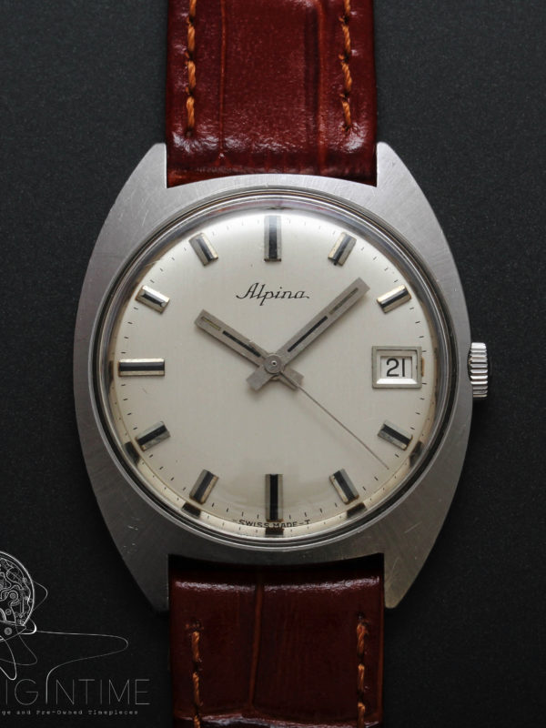 Vintage Alpina Manual Wind Cal 596C