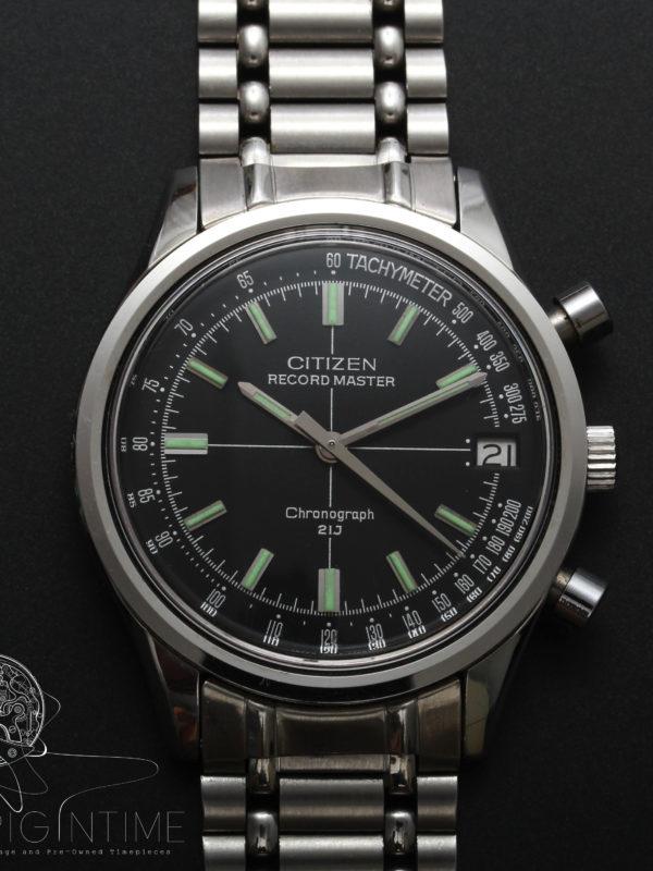Citizen Recordmaster Flyback Chronograph