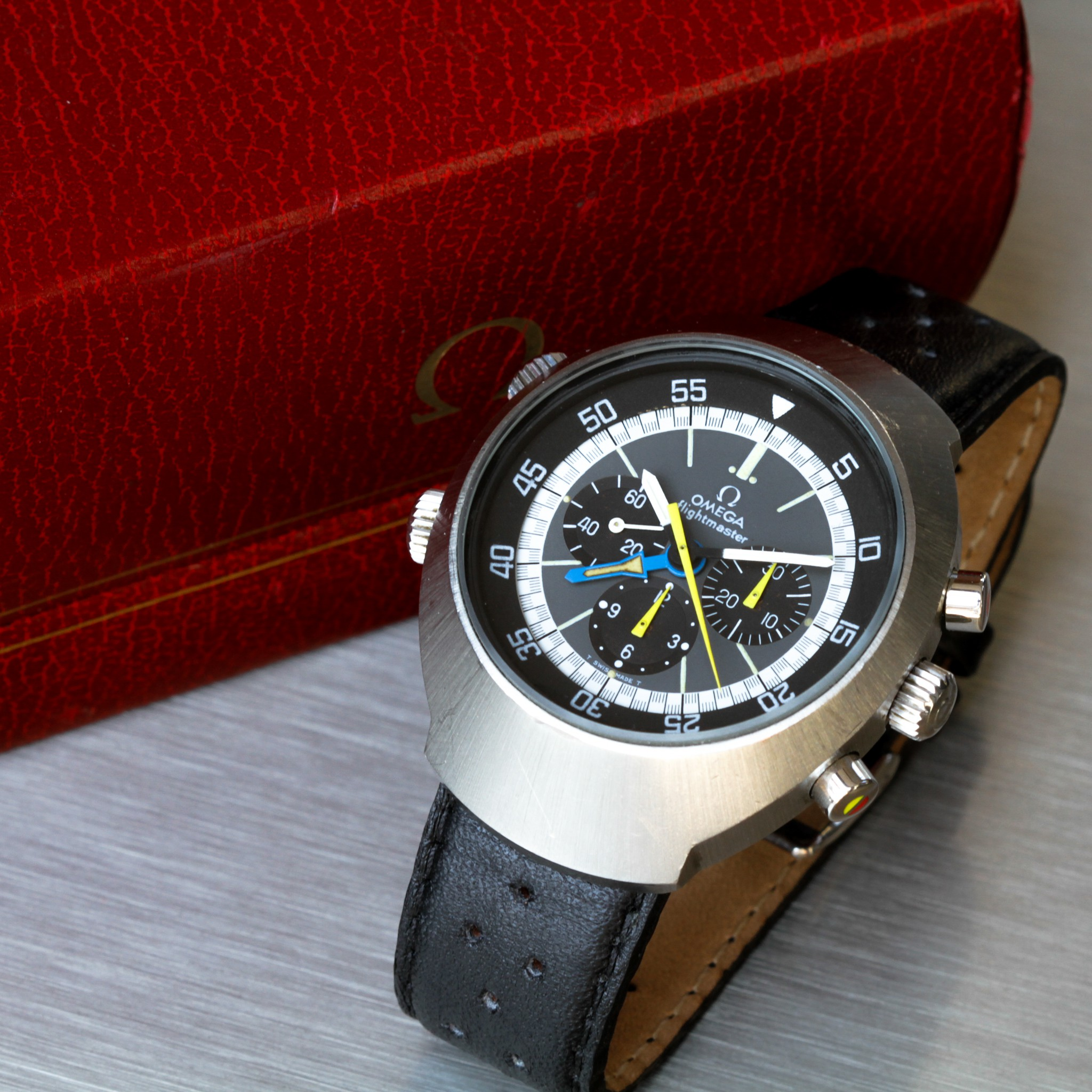 1972 Omega Flightmaster 145.026